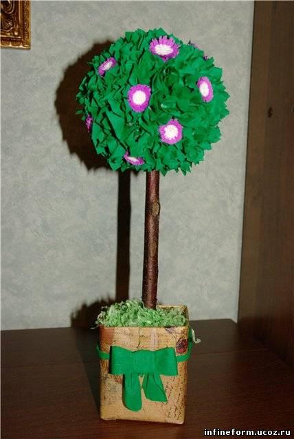 Дерево счастья своими руками с пошаговым фото